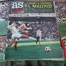 Coleccionismo deportivo: LOTE 3 REVISTAS FUTBOL DEPORTES AS COLOR AÑOS 1974 NUMEROS 141, 148 Y 150 . Lote 192477735