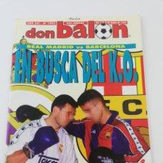 Coleccionismo deportivo: REVISTA DON BALON NUMERO 1003 ENERO 1995 POSTER MICHAEL LAUDRUP REAL MADRID VER SUMARIO.. Lote 192478325