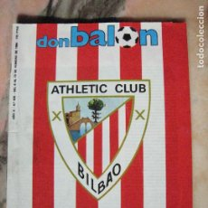 Collectionnisme sportif: HISTORIA FUT.ESPAÑOL HOY ATHLETIC (1ER.CAPITULO) 6/13-2-1984. Lote 192479733