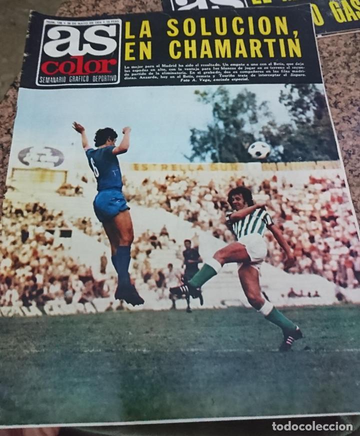 ANTIGUA REVISTA FUTBOL AS COLOR Nº 158 28 DE MAYO 1974 POSTER CENTRAL SELECCION NACIONAL AUSTRALIA (Coleccionismo Deportivo - Revistas y Periódicos - As)