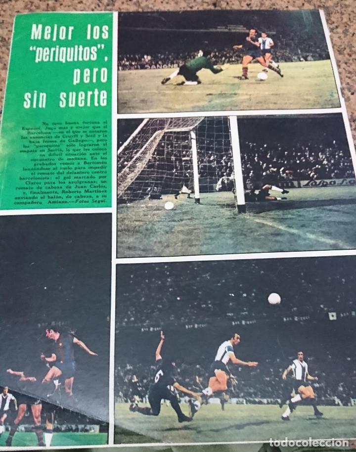 Coleccionismo deportivo: ANTIGUA REVISTA FUTBOL AS COLOR Nº 137 1 DE ENERO 1974 POSTER CENTRAL REAL ZARAGOZA - Foto 2 - 192485287