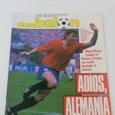 Coleccionismo deportivo: REVISTA DON BALON NUMERO 662 EURO 88 EUROCOPA BUTRAGUEÑO VER SUMARIO.. Lote 192488300