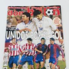Coleccionismo deportivo: REVISTA DON BALON NUMERO 1164 FEBRERO 1998 POSTER VALENCIA CF 97-98 ALKIZA VER SUMARIO.. Lote 192566402