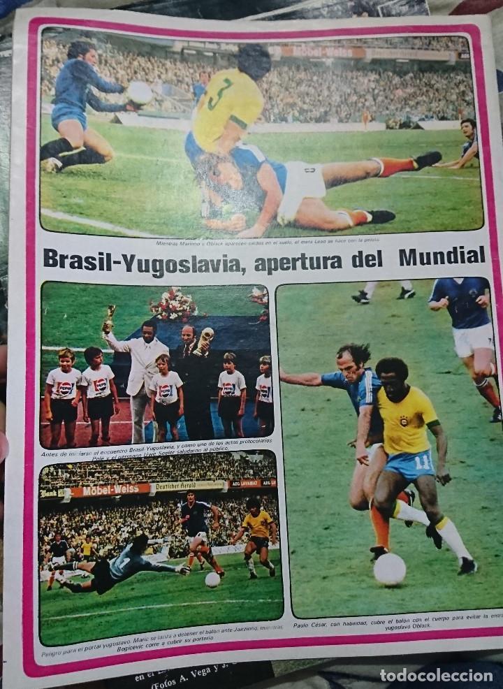 Coleccionismo deportivo: ANTIGUA REVISTA FUTBOL AS COLOR Nº 161 18 JUNIO 1974 POSTER CENTRAL BOXEADOR JOSE DURAN - Foto 2 - 192725192