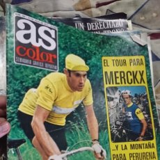 Colecionismo desportivo: ANTIGUA REVISTA FUTBOL AS COLOR Nº 166 23 JULIO 1974 POSTER CENTRAL HERCULES C.F. Lote 192726215