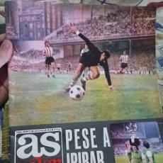 Colecionismo desportivo: ANTIGUA REVISTA FUTBOL AS COLOR Nº 169 13 DE AGOSTO 1974 POSTER CENTRAL RECREATIVO DE HUELVA. Lote 192726851