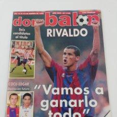 Coleccionismo deportivo: DON BALON NÚMERO 1166 FEBRERO 1998 POSTER REAL BETIS 97-98 RIVALDO VER SUMARIO. Lote 192820218