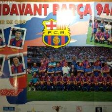 Coleccionismo deportivo: PÓSTER ENDAVANT BARÇA 94/95. Lote 192842170