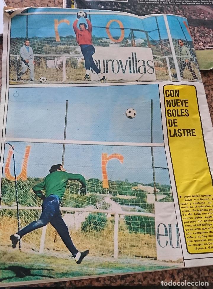 Coleccionismo deportivo: ANTIGUA REVISTA FUTBOL AS COLOR Nº 175 24 SEPTIEMBRE 1974 POSTER CENTRAL HERCULES C.F - Foto 2 - 192874395