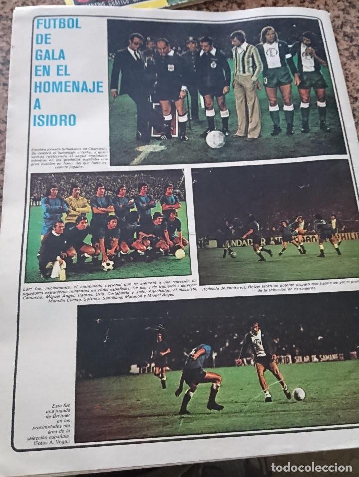 Coleccionismo deportivo: ANTIGUA REVISTA FUTBOL AS COLOR Nº 186 10 DICIEMBRE 1974 POSTER CENTRAL REAL VALLADOLID DEPORTIVO - Foto 2 - 192882645