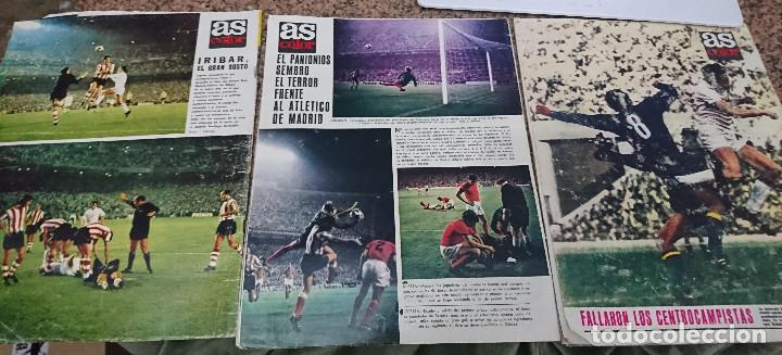 Coleccionismo deportivo: LOTE 3 REVISTAS AS COLOR AÑO 1971 NUMEROS 2, 18 y 22 . SIN POSTER CENTRAL - Foto 2 - 193026900