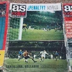Coleccionismo deportivo: LOTE 3 REVISTAS AS COLOR AÑO 1971 NUMEROS 24, 26 Y 29 . SIN POSTER CENTRAL. Lote 193027178