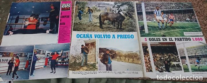 Coleccionismo deportivo: LOTE 3 REVISTAS AS COLOR AÑO 1971 NUMEROS 24, 26 y 29 . SIN POSTER CENTRAL - Foto 2 - 193027178