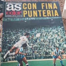 Coleccionismo deportivo: ANTIGUA REVISTA FUTBOL AS COLOR Nº 209 20 DE MAYO 1975 POSTER CENTRAL RECREATIVO DE HUELVA. Lote 193069402