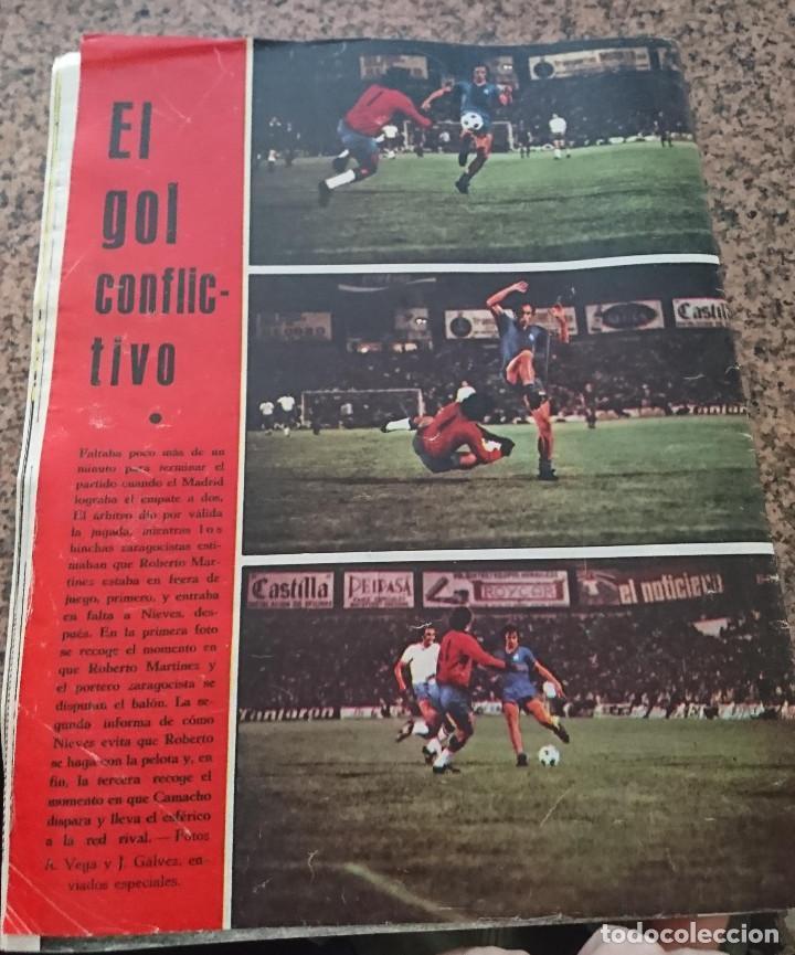 Coleccionismo deportivo: ANTIGUA REVISTA FUTBOL AS COLOR Nº 214 24 DE JUNIO 1975 POSTER CENTRAL RACING DE SANTANDER - Foto 2 - 193072195