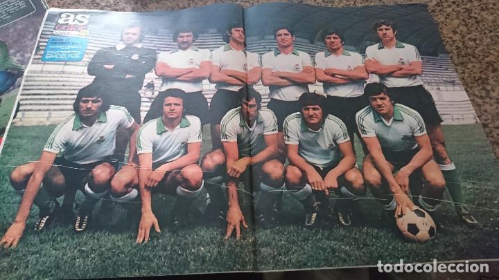 Coleccionismo deportivo: ANTIGUA REVISTA FUTBOL AS COLOR Nº 214 24 DE JUNIO 1975 POSTER CENTRAL RACING DE SANTANDER - Foto 3 - 193072195