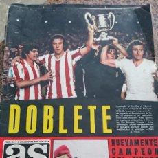 Coleccionismo deportivo: ANTIGUA REVISTA FUTBOL AS COLOR Nº 216 8 DE JULIO 1975 POSTER CENTRAL SEVILLA C.F. Lote 193073072