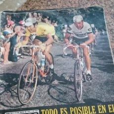Coleccionismo deportivo: ANTIGUA REVISTA FUTBOL AS COLOR Nº 217 15 DE JULIO 1975 POSTER CENTRAL REAL MADRID CAMPEON DE COPA. Lote 193073527