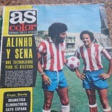 Coleccionismo deportivo: ANTIGUA REVISTA FUTBOL AS COLOR Nº 219 29 DE JULIO 1975 POSTER CENTRAL CICLISTA BERNARDO THEVENET. Lote 193074177