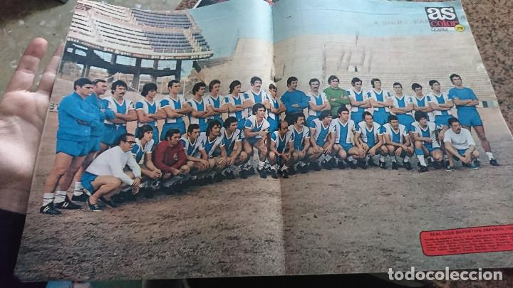 Coleccionismo deportivo: ANTIGUA REVISTA FUTBOL AS COLOR Nº 220 5 DE AGOSTO 1975 POSTER CENTRAL R.C.D. ESPAÑOL - Foto 3 - 193074355