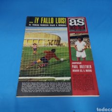 Coleccionismo deportivo: REVISTA AS COLOR NUM. 170 SORPRESA PAUL BREITNER JUGADOR DEL REAL MADRID. Lote 193210041