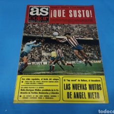 Coleccionismo deportivo: REVISTA AS COLOR NUM. 308 QUÉ SUSTO. PÓSTER CENTRAL REAL BETIS. Lote 193215662