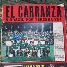 Coleccionismo deportivo: ANTIGUA REVISTA FUTBOL AS COLOR Nº 224 2 DE SEPTIEMBRE 1975 POSTER CENTRAL AMANCIO Y POSTER VALENCIA. Lote 193258680