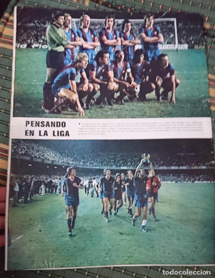 Coleccionismo deportivo: ANTIGUA REVISTA FUTBOL AS COLOR Nº 224 2 DE SEPTIEMBRE 1975 POSTER CENTRAL AMANCIO Y POSTER VALENCIA - Foto 2 - 193258680