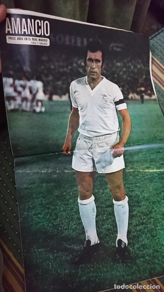 Coleccionismo deportivo: ANTIGUA REVISTA FUTBOL AS COLOR Nº 224 2 DE SEPTIEMBRE 1975 POSTER CENTRAL AMANCIO Y POSTER VALENCIA - Foto 3 - 193258680