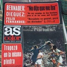 Coleccionismo deportivo: ANTIGUA REVISTA FUTBOL AS COLOR Nº 226 16 DE SEPTIEMBRE 1975 POSTER CENTRAL TENISTA MANUEL ORANTES. Lote 193259310