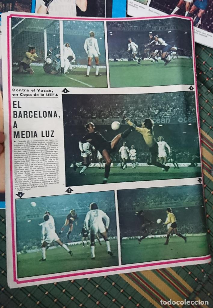 Coleccionismo deportivo: ANTIGUA REVISTA FUTBOL AS COLOR Nº 237 2 DE DICIEMBRE 1975 POSTER CENTRAL U.D, LAS PALMAS C,F - Foto 2 - 193262796