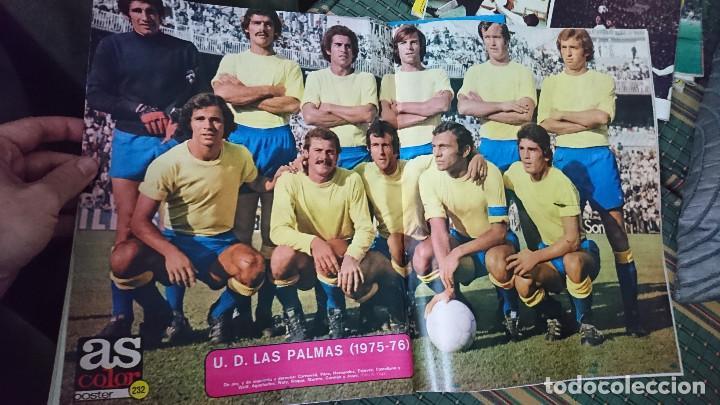Coleccionismo deportivo: ANTIGUA REVISTA FUTBOL AS COLOR Nº 237 2 DE DICIEMBRE 1975 POSTER CENTRAL U.D, LAS PALMAS C,F - Foto 3 - 193262796