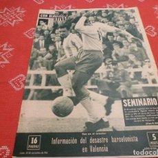 Coleccionismo deportivo: (LLL)VIDA DEPORTIVA Nº:845(20-11-61)ESPAÑOL 5 BIRMINGHAM 2,VALENCIA 6 BARÇA 2,PEDRO PI,BENFICA. Lote 193297311