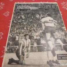 Colecionismo desportivo: (LLL)VIDA DEPORTIVA Nº:982(6-7-64)!!ZARAGOZA 2 AT.MADRID 1!! CAMPEONES DE COPA DEL GENERALISIMO !!!. Lote 193300466