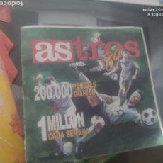 Coleccionismo deportivo: CARTILLA AÑO 1989 DIARIO PERIÓDICO AS ASTROS 1 MILLON PESETAS CADA SEMANA VER FOTOS CAJA 22. Lote 193403741