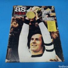 Coleccionismo deportivo: REVISTA AS COLOR NUM. 165. EL TROFEO DEL MUNDIAL. PÁGINAS INTERIORES CLARES BARCELONA. Lote 193674447