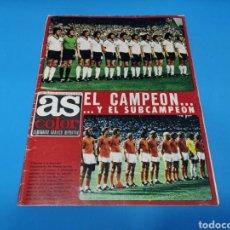 Coleccionismo deportivo: REVISTA AS COLOR NUM. 164. EL CAMPEÓN Y EL SUBCAMPEÓN. Lote 193675493