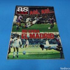 Coleccionismo deportivo: REVISTA AS COLOR NUM. 502. ASÍ, ASÍ... NO GANA EL MADRID. PÓSTER CENTRAL VALENCIA C. F.. Lote 193676202