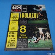 Coleccionismo deportivo: REVISTA AS COLOR NUM. ¡GOLAZO! PÓSTER CENTRAL U. D. SALAMANCA. Lote 193681536