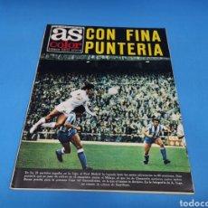 Coleccionismo deportivo: REVISTA AS COLOR NUM. 209. CON FINA PUNTERÍA. PÓSTER CENTRAL RECREATIVO DE HUELVA. Lote 193685106