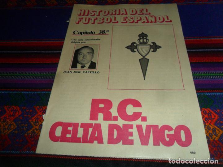 DON BALÓN, HISTORIA DEL FÚTBOL ESPAÑOL CAPÍTULO 38, R.C. CELTA DE VIGO. 1982 1983. (Coleccionismo Deportivo - Revistas y Periódicos - Don Balón)