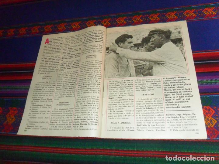 Coleccionismo deportivo: DON BALÓN, HISTORIA DEL FÚTBOL ESPAÑOL CAPÍTULO 38, R.C. CELTA DE VIGO. 1982 1983. - Foto 2 - 193695746