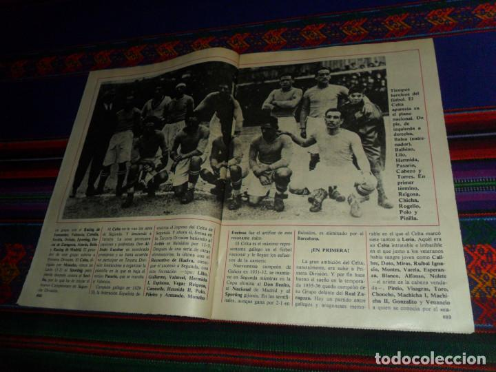 Coleccionismo deportivo: DON BALÓN, HISTORIA DEL FÚTBOL ESPAÑOL CAPÍTULO 38, R.C. CELTA DE VIGO. 1982 1983. - Foto 3 - 193695746
