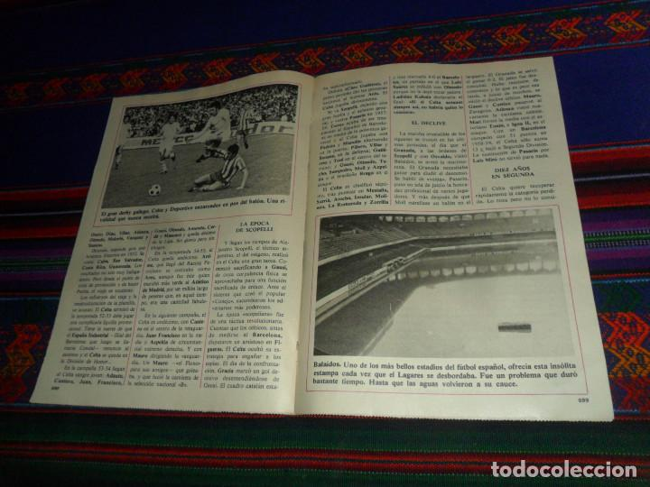 Coleccionismo deportivo: DON BALÓN, HISTORIA DEL FÚTBOL ESPAÑOL CAPÍTULO 38, R.C. CELTA DE VIGO. 1982 1983. - Foto 4 - 193695746