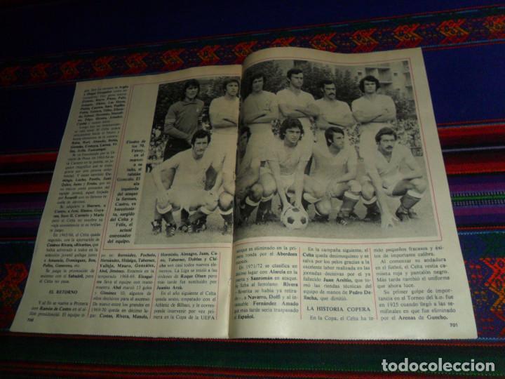 Coleccionismo deportivo: DON BALÓN, HISTORIA DEL FÚTBOL ESPAÑOL CAPÍTULO 38, R.C. CELTA DE VIGO. 1982 1983. - Foto 5 - 193695746