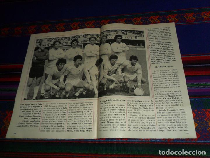 Coleccionismo deportivo: DON BALÓN, HISTORIA DEL FÚTBOL ESPAÑOL CAPÍTULO 38, R.C. CELTA DE VIGO. 1982 1983. - Foto 6 - 193695746