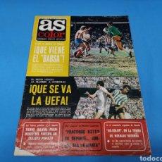 Coleccionismo deportivo: REVISTA AS COLOR NUM. 310. ¡QUÉ SE VA LA UEFA! PÓSTER UNIÓN DEPORTIVA LAS PALMAS. Lote 193698726