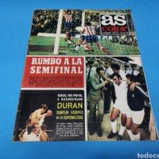 Coleccionismo deportivo: REVISTA AS COLOR NUM. 160. RUMBO A LA SEMIFINAL. Lote 193700637