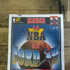 Coleccionismo deportivo: REVISTA GUÍA MARCA NBA MICHAEL JORDAN. Lote 193723276