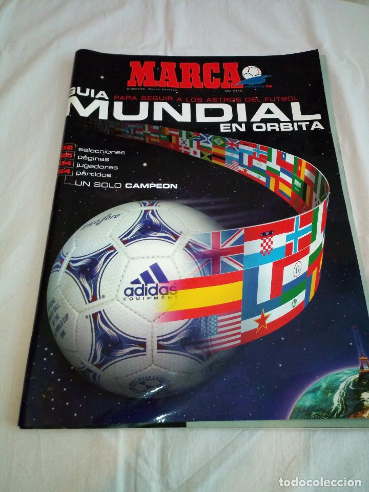 21-MARCA GUIA DEL MUNDIAL FUTBOL FRANCIA 98 (Coleccionismo Deportivo - Revistas y Periódicos - Marca)